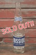 dp-210301-89 MISSION / 1960's 10 FL.OZ Bottle