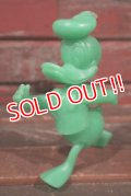 ct-210301-63 Donald Duck / MARX 1970's Plastic Figure (Green)