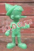 ct-210301-66 Pinocchio / MARX 1970's Plastic Figure (Green)