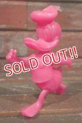 ct-210301-64 Donald Duck / MARX 1970's Plastic Figure (Pink)