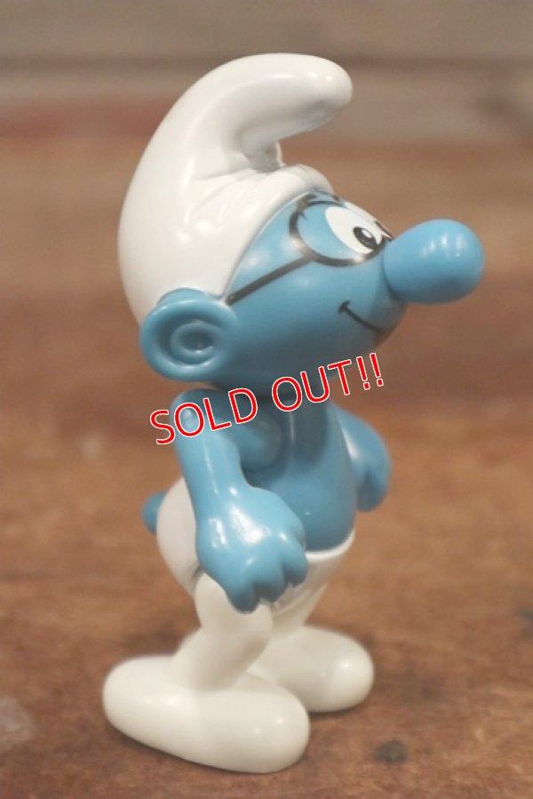 画像3: ct-201101-56 Brainy Smurf / McDonald's 2002 Plastic Figure