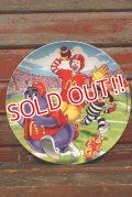 "ct-210401-30 McDonald's / 2002 Collectors Plate ""Football"""