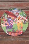 """ct-210401-30 McDonald's / 2004 Collectors Plate """"Picnic Frisbee"""""""