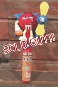 """ct-210401-22 Mars / m&m's 2008 Candy Fan """"Halloween Red"""""""