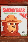 ct-210401-46 Smokey Bear / WHITMAN 1971 Saves the Forest Picture Book