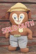 ct-210401-35 Smokey Bear / Knickerbocker 1970's mini Cloth Doll