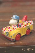 ct-210401-80 Snoopy / HASBRO 1980's Towing Die-cast Car