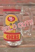 gs-210501-01 SAN FRANCISCO 49ERS / 1970's-1980's Beer Mug