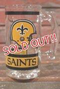 gs-210501-02 New Orleans Saints / 1970's-1980's Beer Mug