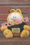 "ct-210501-26 Garfield / CTI Industries 1990's Plush Doll ""Happy Birthday"""