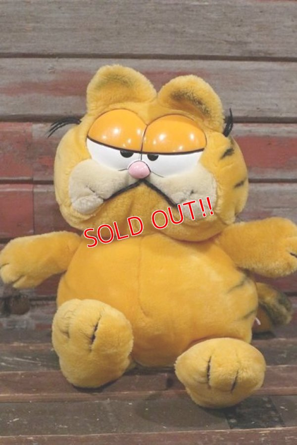 画像1: ct-210401-69 Garfield / DAKIN 1980's Plush Doll