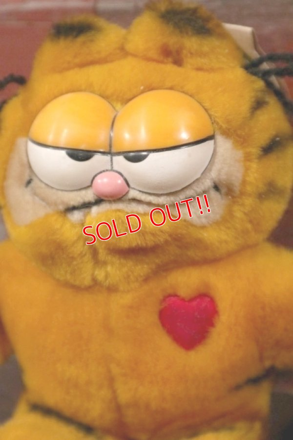 画像2: ct-210501-12 Garfield / DAKIN 1980's Plush Doll