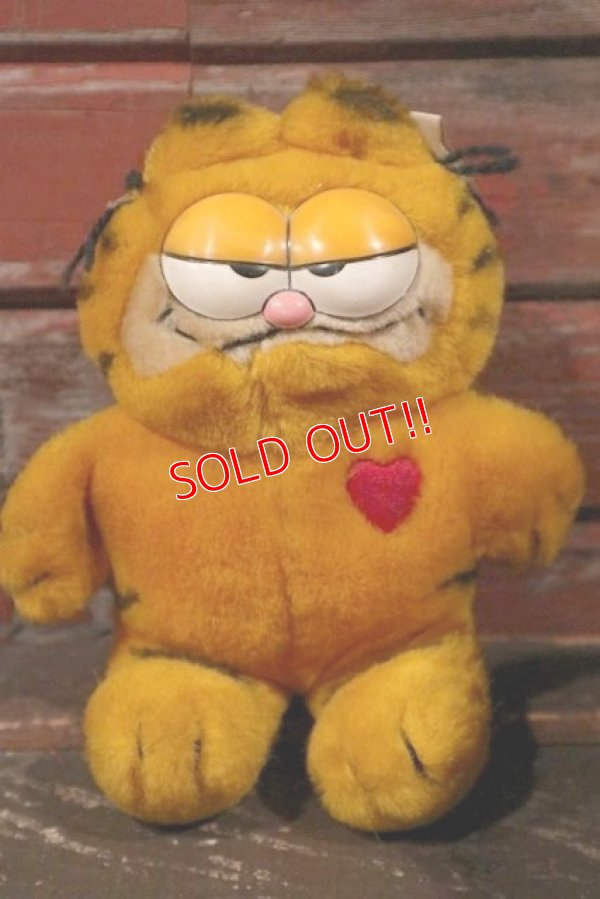 画像1: ct-210501-12 Garfield / DAKIN 1980's Plush Doll