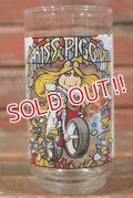 """gs-210501-10 Muppets / McDonald's 1981 """"The Great Muppet Caper!"""" Miss Piggy Glass"""