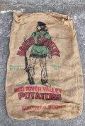 dp-210401-66 RED RIVER VALLEY POTATOES / Vintage Burlap Bag