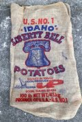 dp-210401-66 IDAHO LIBERTY BELL POTATOES / Vintage Burlap Bag