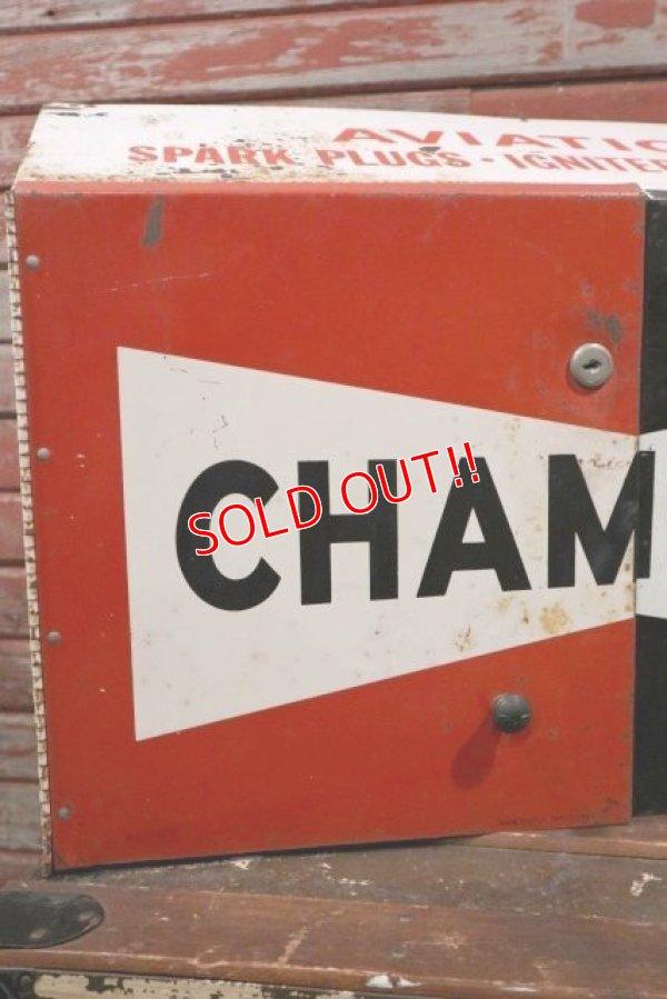 画像2: dp-210501-01 CHAMPION / 1960's〜Metal Parts Cabinet