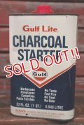 dp-210401-99 Gulf Lite / 1960's Charcoal Starter Can