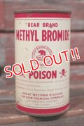 dp-210401-104 BEAR BRAND / METHYL BROMIDE Vintage Can