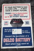 dp-210401-50 Delco Battery / 1960's Poster