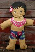 ct-210401-31 C&H Sugar / 1970's Hawaiian Boy Pillow Doll (H)
