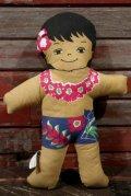 ct-210401-31 C&H Sugar / 1970's Hawaiian Boy Pillow Doll (D)