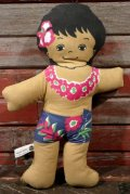 ct-210401-31 C&H Sugar / 1970's Hawaiian Boy Pillow Doll (E)