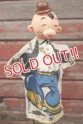 ct-201114-45 Popeye Wimpy / Gund 1950's Hand Puppet