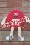 ct-210501-65 Mars / m&m's 1987 Plush Doll (Red)