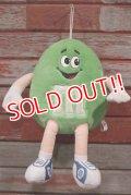 ct-210501-66 Mars / m&m's 1987 Plush Doll (Green)