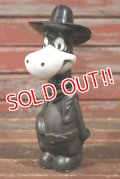 ct-210501-99 Quick Draw McGraw / 1960's Plastic Coin Bank