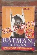 ct-210601-08 BATMAN RETURNS / O-Pee-Chee 1992 Trading Card Box