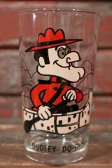 gs-210501-27 Dudley Do-Right / PEPSI 1970's Collector Series Glass (12oz)