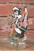 gs-210501-22 Pepe Le Pew & Daffy Duck / PEPSI 1976 Collector Series Glass