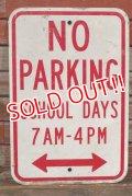 dp-210501-65 Road Sign / NO PARKING SCHOOL DAYS