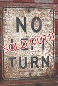 dp-210501-64 Road Sign / NO LEFT TURN