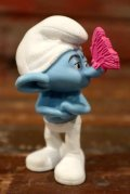 """ct-210501-100 Smurf / McDonald's 2011 Meal Toy """"Grouchy"""""""