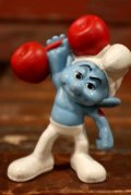 """ct-210501-100 Smurf / McDonald's 2011 Meal Toy """"Hefty"""""""
