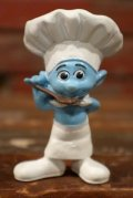 """ct-210501-100 Smurf / McDonald's 2011 Meal Toy """"Chef Smurf"""""""