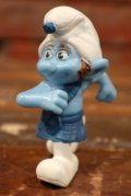 """ct-210501-100 Smurf / McDonald's 2011 Meal Toy """"Gutsy"""""""