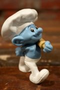 """ct-210501-100 Smurf / McDonald's 2013 Meal Toy """"Baker Smurf"""""""
