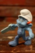 """ct-210501-100 Smurf / McDonald's 2011 Meal Toy """"Handy Smurf"""""""