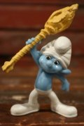 """ct-210501-100 Smurf / McDonald's 2011 Meal Toy """"Clumsy"""""""
