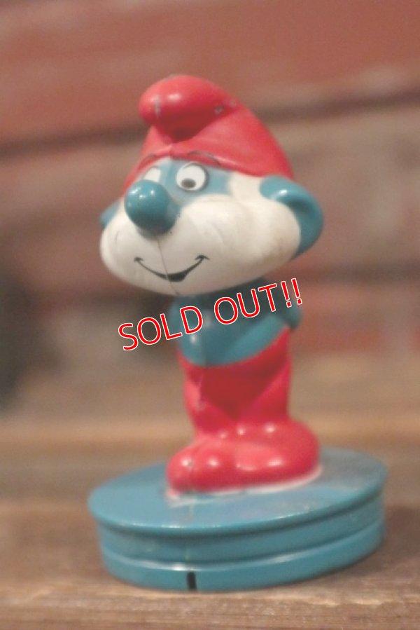 画像2: ct-111018-34 Papa Smurf / 1982 Plastic Figure