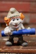 "ct-210501-100 Smurf / McDonald's 2013 Meal Toy ""Hackus"""