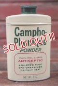 dp-210501-27 Campho-Phenique POWDER / Vintage Tin Can