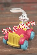 """ct-200701-60 Bugs Bunny / McDonald's 1990's Meal Toy Quack-Up Cars """"Super Stretch Limo"""""""