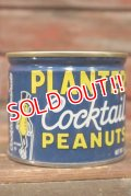 dp-210601-32 PLANTERS / MR.PEANUT 1960's-1970's Cocktail Peanuts Tin Can