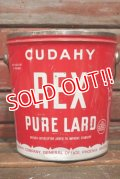 dp-210601-45 CUDAHY REX PURE LARD / Vintage Tin Bucket