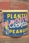 dp-210601-33 PLANTERS / MR.PEANUT 1960's-1970's Cocktail Peanuts Tin Can